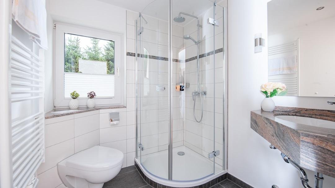 Badezimmer Hotel Noltmann-Peters