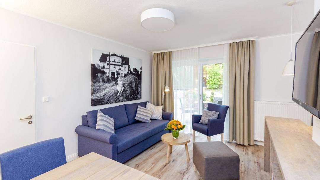 Hotel Noltmann-Peters Ferienwohnung Wohnzimmer