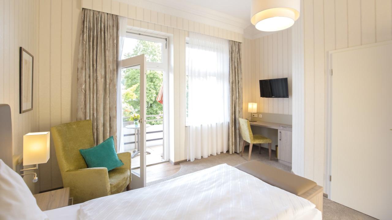 Hotel Noltmann-Peters Balkon Zimmer